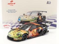 Porsche 911 RSR #56 Winner LMGTE Am 24h LeMans 2019 Team Project 1 1:12 Spark