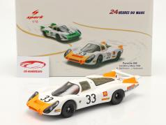 Porsche 908 Coupe #33 3rd 24h LeMans 1968 Stommelen, Neerpasch 1:18 Spark