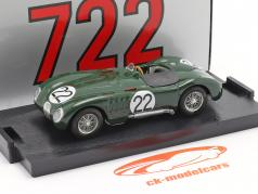 Jaguar C-Type #22 24h LeMans 1951 Moss, Fairman 1:43 Brumm