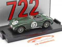 Jaguar C-Type #17 2 ° 24h LeMans 1953 Moss, Walker 1:43 Brumm