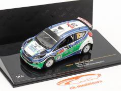 Ford Fiesta S2000 #28 X.Pons / A.Haro Winnaar S-WRC Mexico rally 2010 1:43 Ixo / 2. keuze