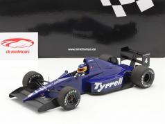 Michele Alboreto Tyrrell 018 #4 3ª mexicano GP Fórmula 1 1989 1:18 Minichamps