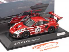 Porsche 911 (991 II) GT2 RS Clubsport Salzbourg conception Taxi Leipzig 1:43 Spark