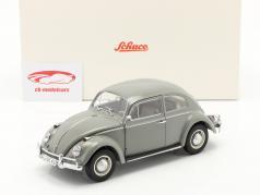 Volkswagen VW Escarabajo Año de construcción 1963 gris 1:18 Schuco