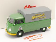 Volkswagen VW タイプ 2 T1b ピックアップトラック と 予定 緑 1:32 Schuco