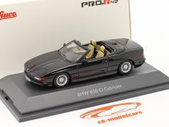 BMW 850 CI コンバーチブル (E31) 黒 1:43 Schuco