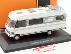 Hymermobil 650 wit / grijs jaar 1985 1:43 Ixo / 2e keuze
