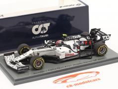 Pierre Gasly Alpha Tauri AT01 #10 vencedora italiano GP Fórmula 1 2020 1:43 Spark