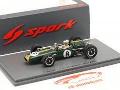 Denis Hulme Brabham BT22 #8 Monaco GP formule 1 1966 1:43 Spark