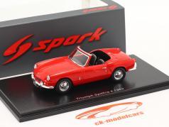 Triumph Spitfire 4 Anno di costruzione 1962 rosso 1:43 Spark