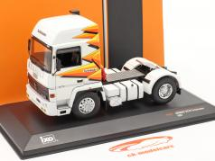 Renault R370 Turboleader Tractor unit year 1987 white 1:43 Ixo