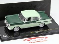 Simca Chambord år 1958 mørk grøn / lys grøn 1:43 Ixo / 2. plads valg