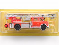 Mercedes-Benz L1519 Пожарная часть С Телескопическая лестница красный / Серебряный 1:43 Altaya