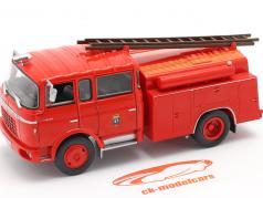 Berliet GAK 17 corpo de Bombeiros Madrid vermelho 1:43 Altaya