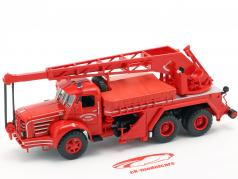 Magirus Berliet TBO 15 Tone fire Department crane vehicle SDI des Yvelines 1:43 Altaya