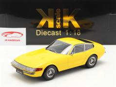 Ferrari 365 GTB/4 Daytona Coupe 1. Serie 1969 gelb 1:18 KK-Scale