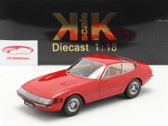 Ferrari 365 GTB/4 Daytona cupê Series 1 1969 vermelho 1:18 KK-Scale