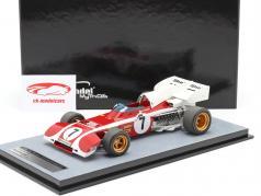 Mario Andretti Ferrari 312B2 #7 4th Südafrika GP Formel 1 1972 1:18 Tecnomodel