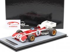 Clay Regazzoni Ferrari 312B2 #6 zuiden Afrikaanse GP formule 1 1972 1:18 Tecnomodel