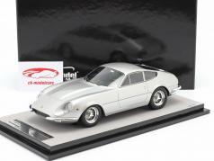 Ferrari 365 GTB/4 Daytona Prototipo 1967 silber metallic 1:18 Tecnomodel