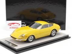 Ferrari 365 GTB/4 Daytona Prototipo 1967 modena yellow 1:18 Tecnomodel
