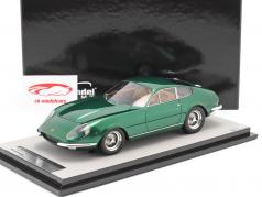 Ferrari 365 GTB/4 Daytona Prototipo 1967 green metallic 1:18 Tecnomodel