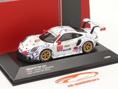 Porsche 911 (991) RSR #911 Klasse Winnaar Petit LeMans 2018 Porsche GT Team 1:43 Ixo