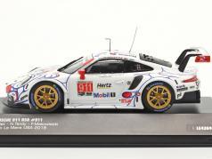Porsche 911 (991) RSR #911 Класс Победитель Petit LeMans 2018 Porsche GT Team 1:43 Ixo