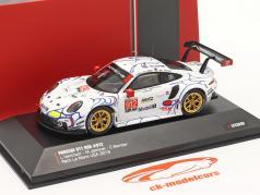 Porsche 911 (991) RSR #912 2 ° Classe GTLM Petit LeMans 2018 Porsche GT Team 1:43 Ixo