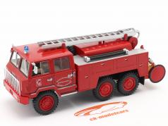 Berliet FF 6x6 fire Department SDIS Meurthe et Moselle red 1:43 Altaya
