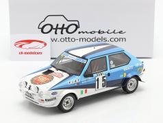 Fiat Ritmo 75 Abarth #15 6. Rallye Monte Carlo 1980 1:18 OttOmobile