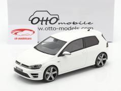 Volkswagen VW Golf VII R Anno di costruzione 2014 bianca 1:18 OttOmobile