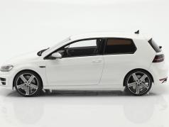 Volkswagen VW Golf VII R year 2014 white 1:18 OttOmobile