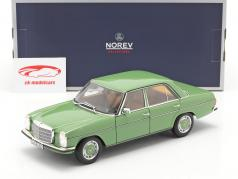 Mercedes-Benz 200 Sedan (W115) year 1973 green 1:18 Norev
