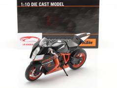 KTM 1190 RC8 R noir / Orange 1:10 Welly