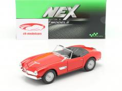 BMW 507 Cabriolet rojo 1:24 Welly
