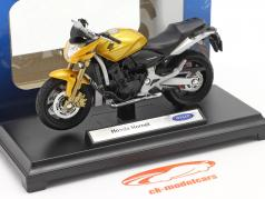 Honda Hornet amarillo 1:18 Welly