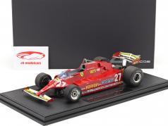 G. Villeneuve Ferrari 126CX #27 S'entraîner Etats-Unis Ouest GP formule 1 1981 1:18 GP Replicas