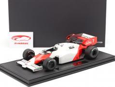 Alain Prost McLaren MP4/2 #7 formula 1 1984 1:18 Con vetrina GP Replicas