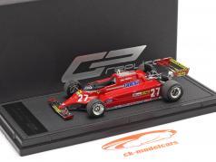 Gilles Villeneuve Ferrari 126CK #27 Formel 1 1981 1:43 GP Replicas