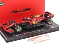 S. Vettel Ferrari SF1000 #5 1000th GP Ferrari Toskana GP F1 2020 1:43 Bburago