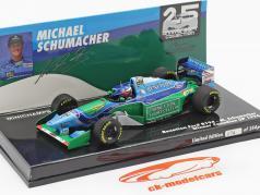 M. Schumacher Benetton B194 #5 vinder Canada F1 Verdensmester 1994 1:43 Minichamps