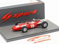 Joakim Bonnier Brabham BT7 #18 británico GP fórmula 1 1966 1:43 Spark