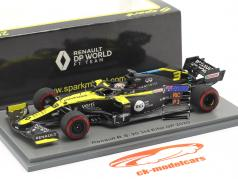 Daniel Ricciardo Renault R.S.20 #3 3ª Eifel GP Fórmula 1 2020 1:43 Spark