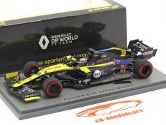 Daniel Ricciardo Renault R.S.20 #3 第三名 埃菲尔 GP 公式 1 2020 1:43 Spark
