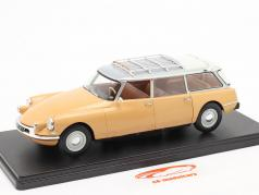 Citroen ID19 Break gelbbraun 1:24 Hachette