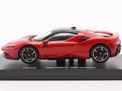 Ferrari SF90 Stradale Год постройки 2019 красный 1:43 Bburago Signature