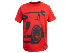 Manthey Racing T-Shirt Porsche 911 GT2 RS MR vermelho