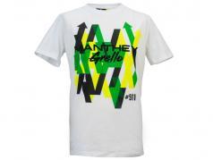 Manthey Racing T-Shirt Grafico Grello #911 bianca