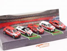 5-Car Set Audi FC 巴伐利亚州 慕尼黑 1:64 Majorette